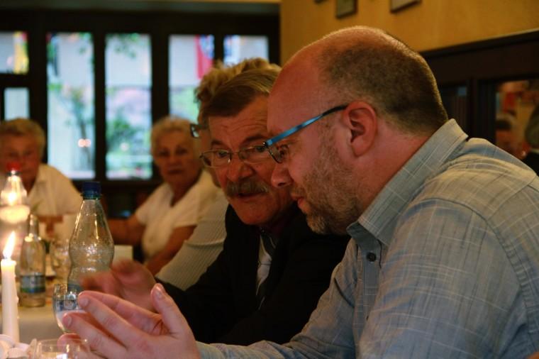 Martin und Klaus Bernhardt im Gespräch - Juni 2011