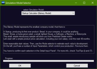 simulation-model-selector