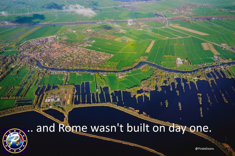 Pirate Desire - and Rome was not built on day one