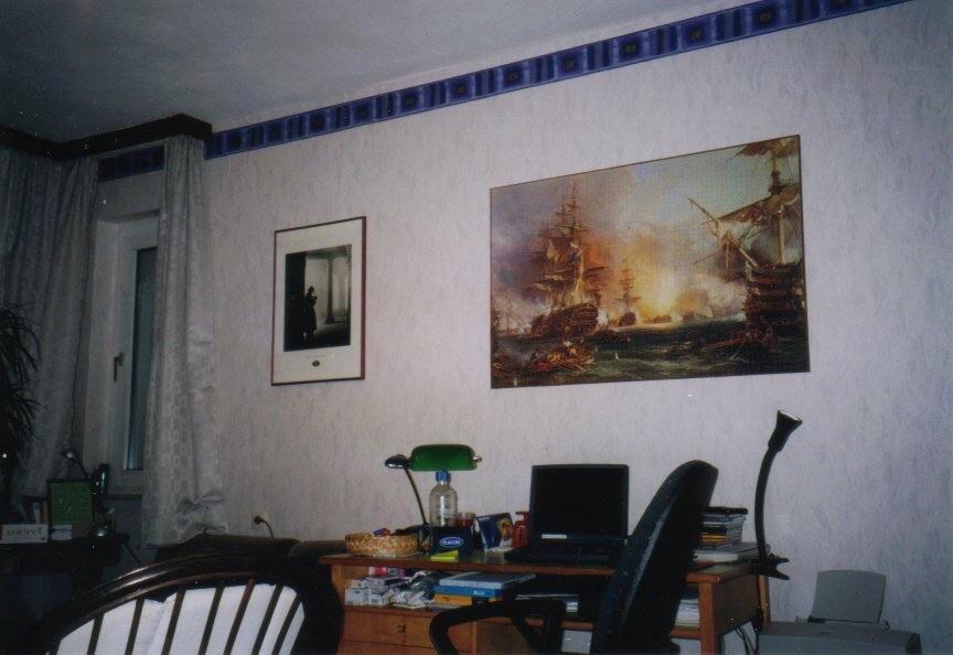 The Battle of Algier, a 6000 pieces puzzle (Ravensburger Games) in Paderborn, Ferdinandstr 67, 1998-2010.