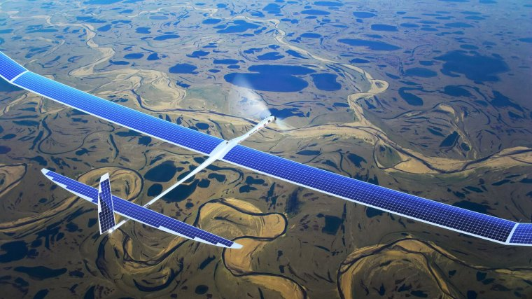 Google Alphabet - Titan Solera - Photovoltaic driven Airplane