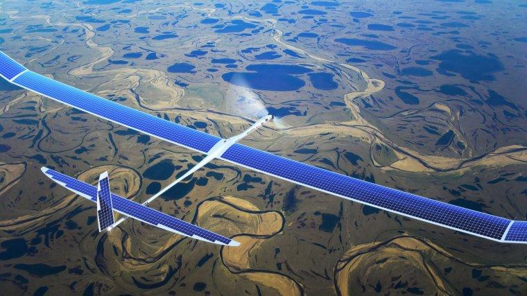 Google Alphabet - Titan Solera - Photovoltaic driven Airplane
