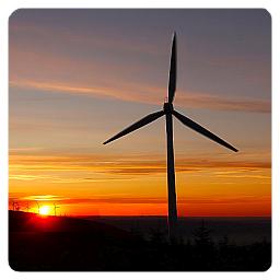 Wind Turbine - Dynamic Applications - Logo - 256x256