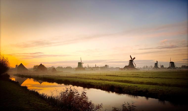 Historic Windmills. Thank you to Arjan de Jong, Netherlands.