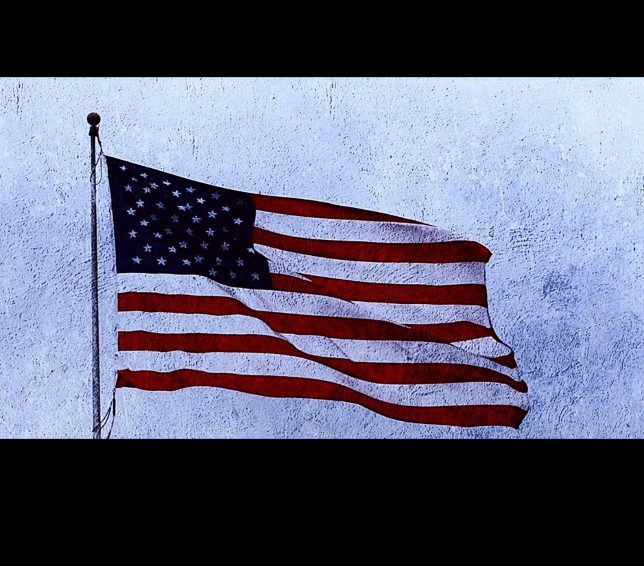 United States of America - 4th of July - flag of independence day.