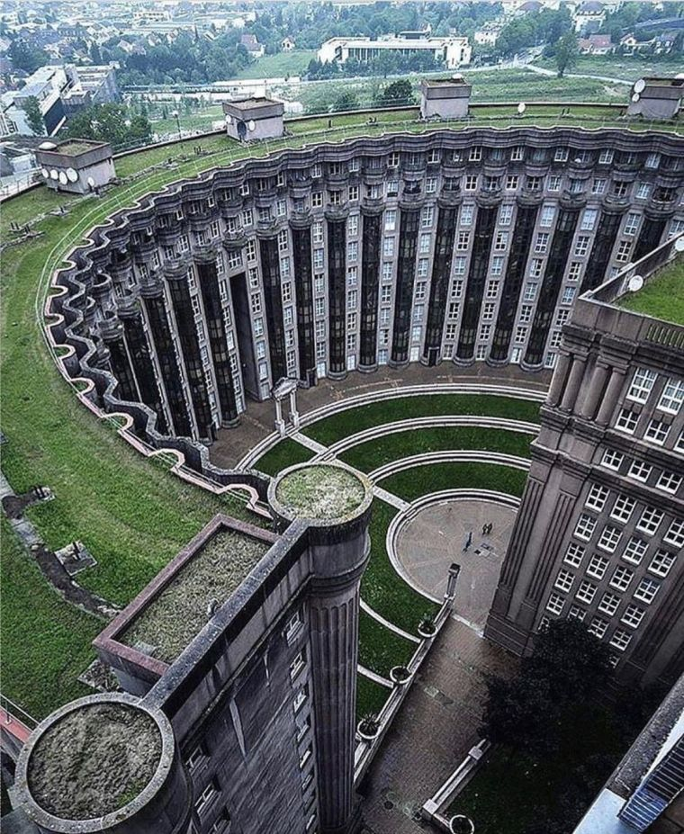 Water Supply Reservoir Hotel - Les Espaces d'Abraxas - from Hunger Games - France - MMXIX