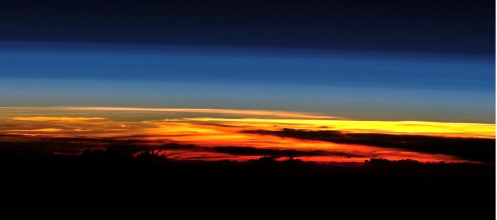 Sonnenuntergang - Hintergrundbild