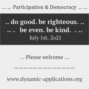 do good - be righteous - be even - be kind